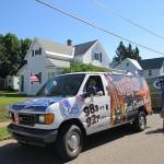 wrup van in ishpeming michigan parade july 4 2014 001