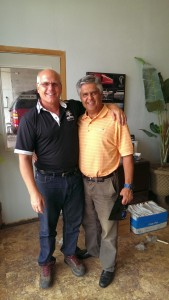 Marquette Auto Armor Owner, Ardi Payan, with Todd Noordyk