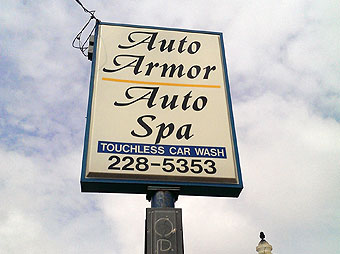 Keep your vehicle looking like new with Auto Armor on Front Street in downtown Marquette