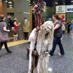 Super creepy horror costume!