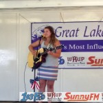 Casey Beaudry played at the Country Showdown for the Marquette Township Community Days.