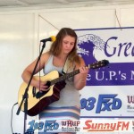 Casey Beaudry played at the Country Showdown for the Marquette Township Community Days