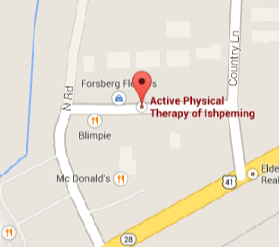 Active Physical Therapy in Marquette (906-226-1574) and Ishpeming (906 204-7400)