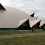The Superior Dome housed NMU's laptop pickup in Marquette