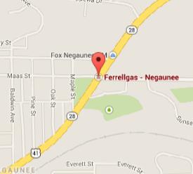 Ferrellgas - 603 U. S. Hwy 41 East, Negaunee, MI 49866