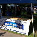 You can't have a party without pizza! Main Street Pizza brought fresh, delicious pizza to Fall Fest