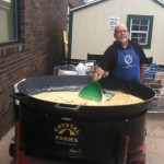 Tadychs Econo Foods Customer Appreciation Breakfast 4 foot frying pan