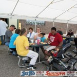 Tadychs Econo Foods Customer Appreciation Breakfast UPs Biggest Frying Pan Crystal Farms Marquette Michigan Great Lakes Radio - 011
