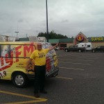 The Major & his van are always on the Marquette County scene.