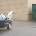 Torrential Downpour in Marquette MI