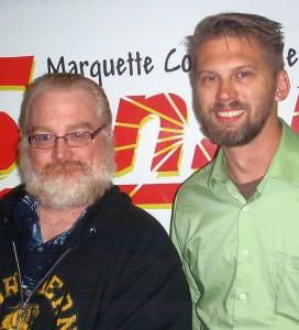 Rusty Bowers and David Swanson.