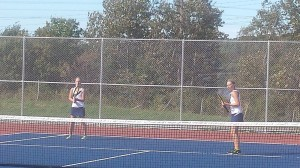 The doubles teams' improvement over the course of the season has led to good things in Negaunee Tennis!