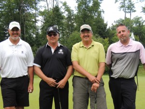 Golfers Extrodinaire at WildBluff at the Sault Tribe Golf Scholarship Classic Tournament
