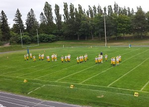 The Negaunee Miners defeated the Calumet Copper Kings Friday, September 5th, 2014.
