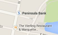 Find Peninsula Bank on Google Maps