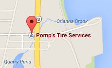 Find Pomps Tire with Google Maps