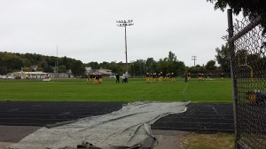 After losing on their home field last Friday, Negaunee is looking to improve to 3-0 on the road in 2014.