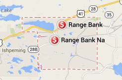 Find Range Bank with Google Maps