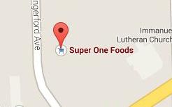 Find Super One Foods on Google Maps