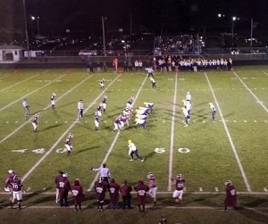 The Negaunee Miners defeated the Charlevoix Rayder on Sunny.FM 10/31/14