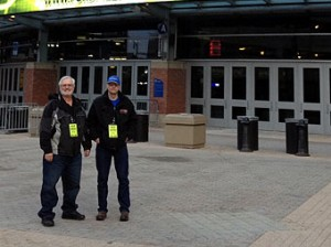 Our broadcasters are very excited for the big game at Ford Field!