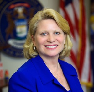 MI Secretary of State Ruth Johnson.