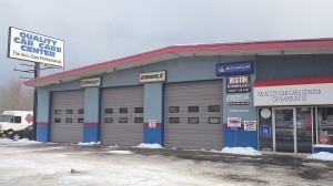 Quality Car Care Center Marquette Michigan Front of Business