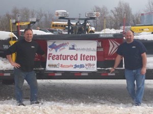 Quality Car Care Center Marquette Michigan Owners Pete and Jeff Kontio Western Plow