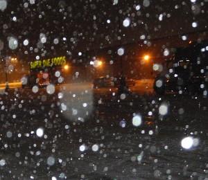 Wintry weather brings closings.