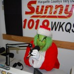 Grinch Tries to Steal Sunny.FM Microphone