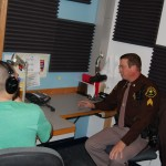 Eric Interviews Marquette Sheriff Deputy about Grinch Suppression Effort This Year