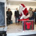 Santa Powers Up The Tree