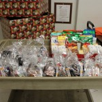 Gifts for the veterans from the community, Great Lakes Radio, and Kewadin Cares