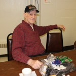 Veterans at the DJ Jacobetti Home for Veterans at the Christmas is for Veterans celebration