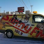Look for the Sunny.FM van at Honor Credit Union in Marquette