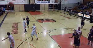 Negaunee Miners Boys Basketball VS Escanaba Eskimos 12/09/14
