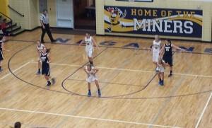 Negaunee Miners Girls Basketball vs Norway Knights on Sunny.FM 12/19/14.