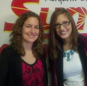 Lindsay Thomas and Kaylee Williams of HONOR Credit Union.