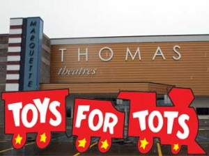 Help Spread Holiday Cheer this Season with Thomas Theatre Group and Toys for Tots