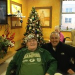 Bill Tibor from Great Lakes Radio found the last Yooper chook for veteran, John Novak