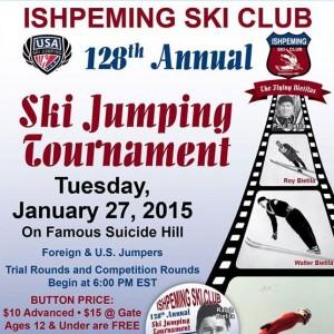 128th Annual Ishpeming Ski Club Ski Jumping Tournament