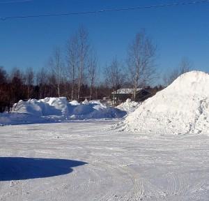 A brilliant and cold day in Marquette, MI.