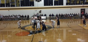 The Negaunee Miners Boys Basketball vs Iron Mountain Mountaineer on Sunny.FM 01/27/15
