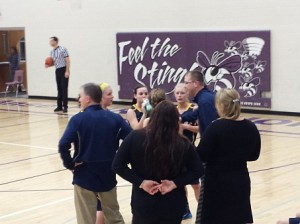 The Negaunee Miners Girls Basketball team defeated the L'Anse Purple Hornets on Sunny.FM 01/20/15