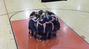 Negaunee Miners Girls Basketball vs Escanaba Eskymos on Sunny.FM 01/28/15