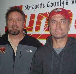 Bob Airaudi and Kevin Shupenia of the Marquette Royales.