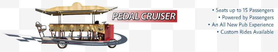 Checker Transport Pedal Cruiser