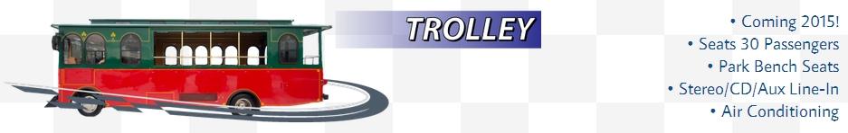 Checker Trolley For Weddings