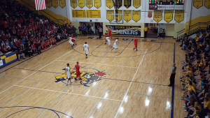 The Negaunee Miners defeated the Marquette Redmen 56-44 on Sunny.FM.