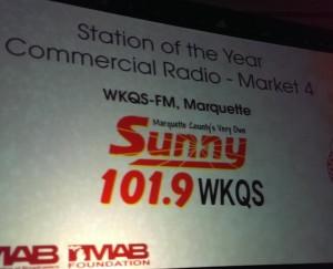 SunnyFM WKQS Wins 2014 MAB Station of the Year